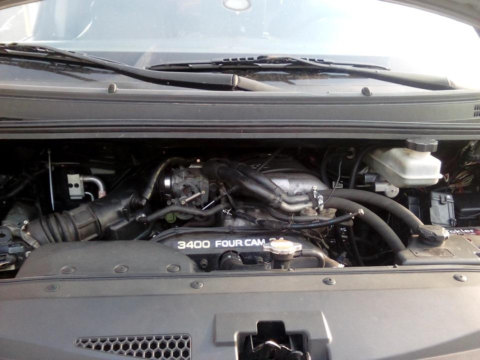 свап двс тойота 5vz и 1uz на H-1(хендай гранд старекс) — Hyundai H-1