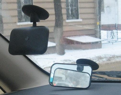 Обгонное зеркало своими руками