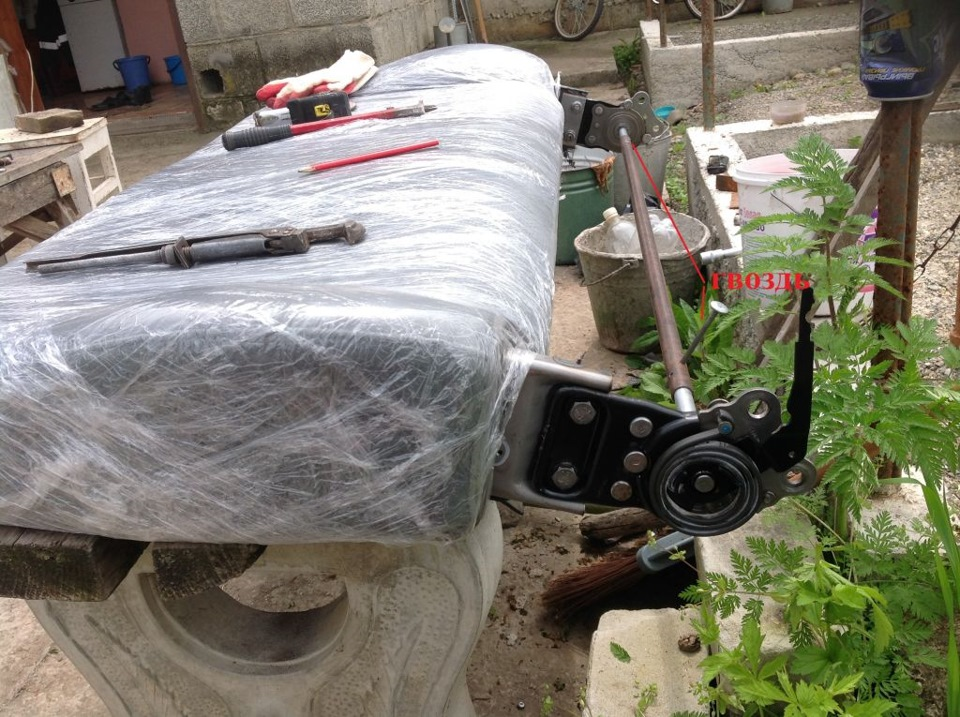 замена дивана в hyundai h1