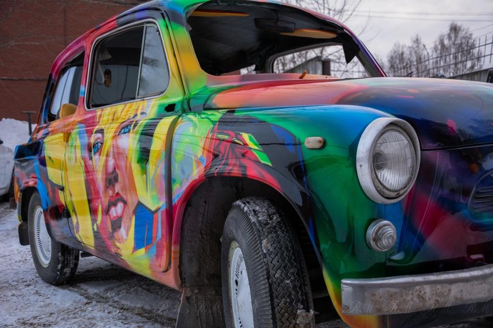 цвет, окраска автомобиля по картинке днем работников сельского