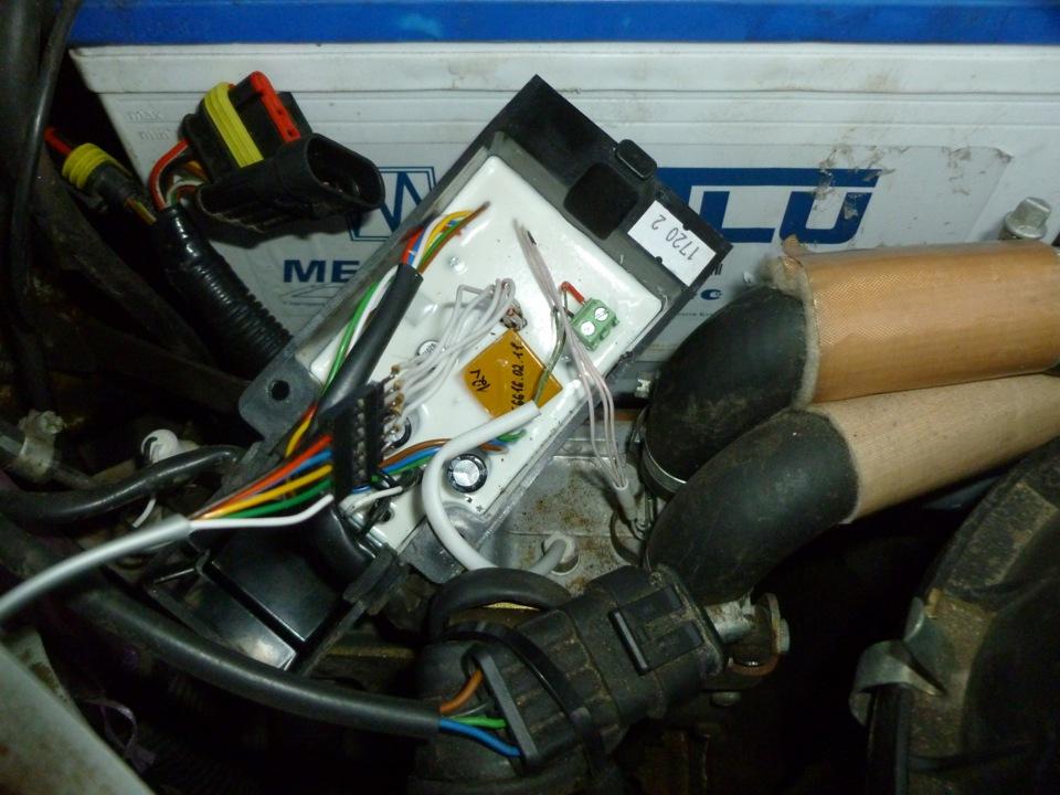 Когда разобрался с проводами