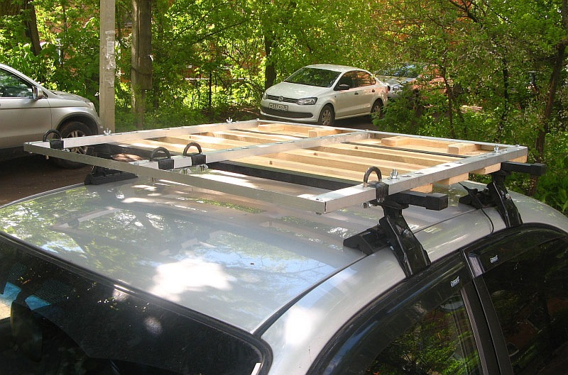 Багажник для крыши машины своими руками 30