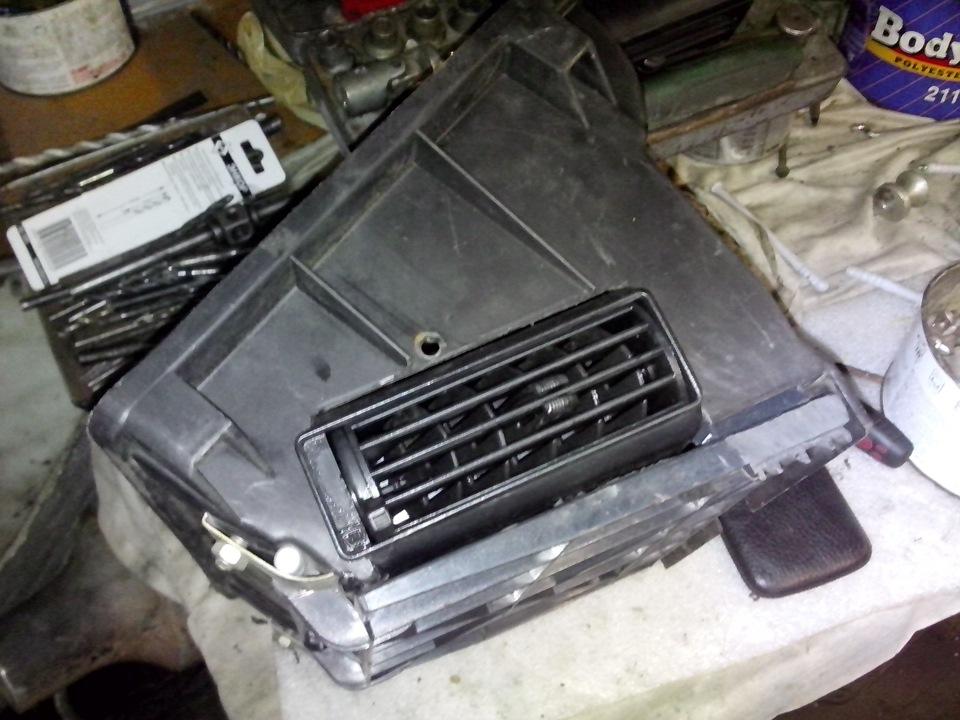 Переделка печки Нивы (установка вентилятора от ВАЗ