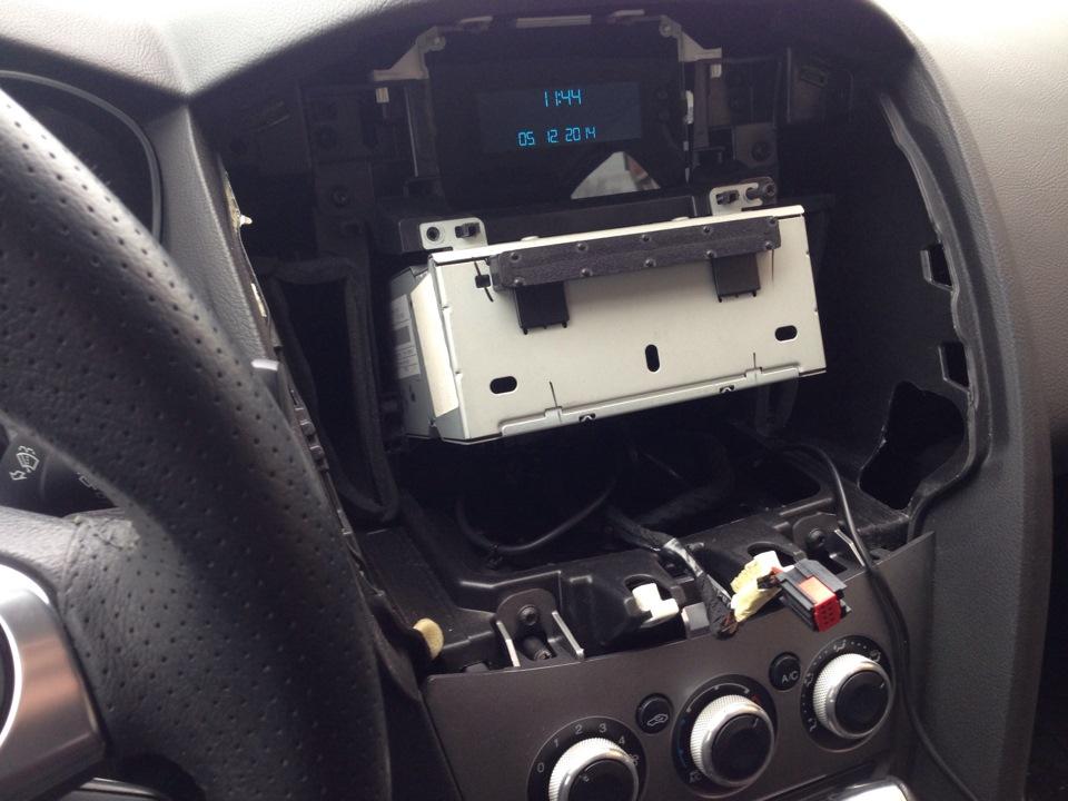 Как магнитолу на форд фокус 3