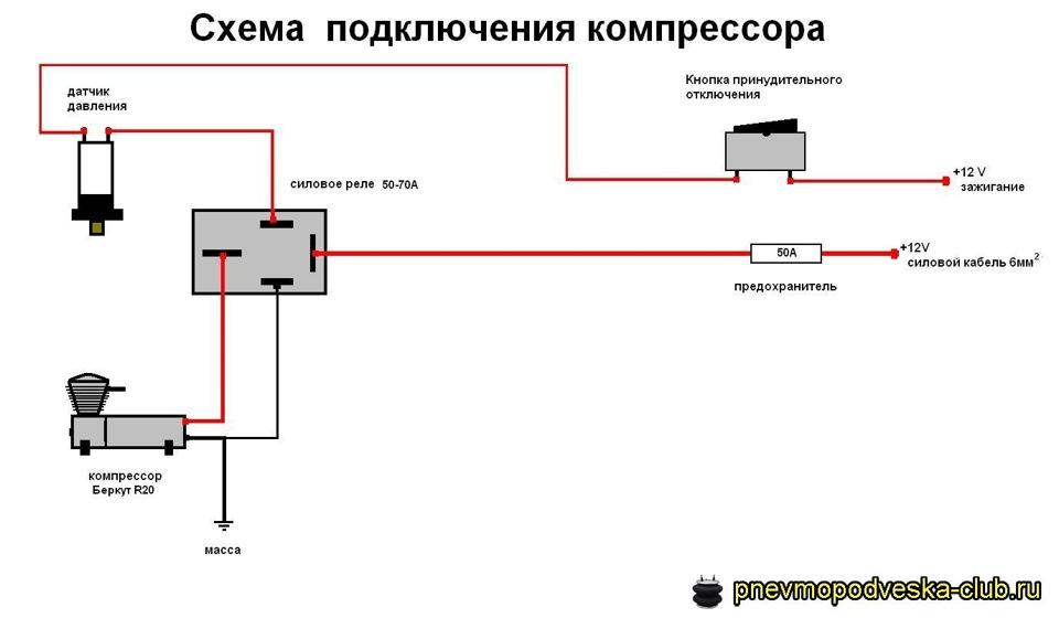 Это схема подключения компа