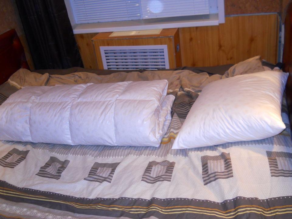 Пуховое одеяло мастер класс