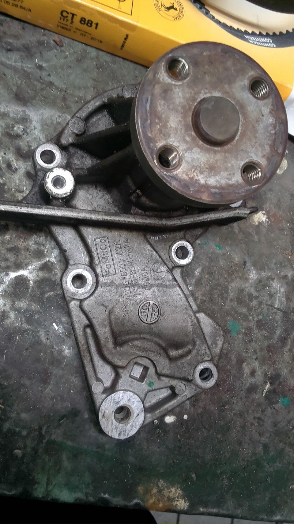 Замена ремня грм на форд мондео 4 16 своими руками