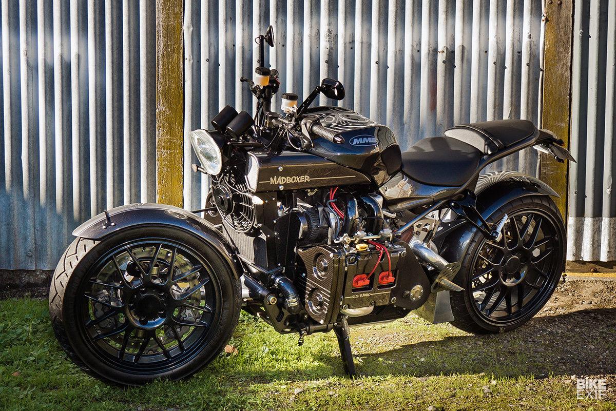 мотоцикл с двигателем от субару фото цель
