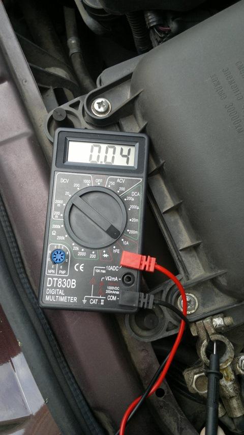 Фото №1 - утечка тока в автомобиле ВАЗ 2110