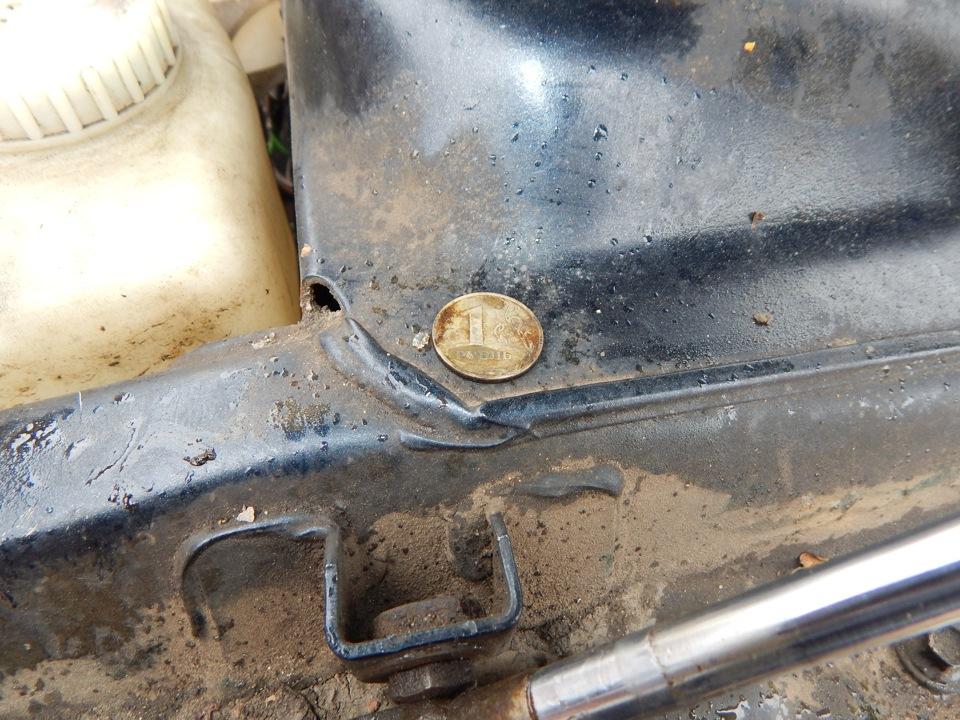 Фото №5 - замена радиатора печки на ВАЗ 2110