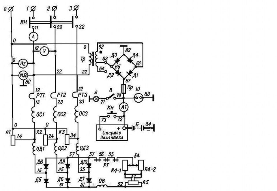 Чтение принципиальных электрических схем для начинающих