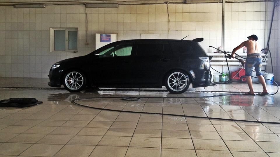Тойота филдер тюнинг фото