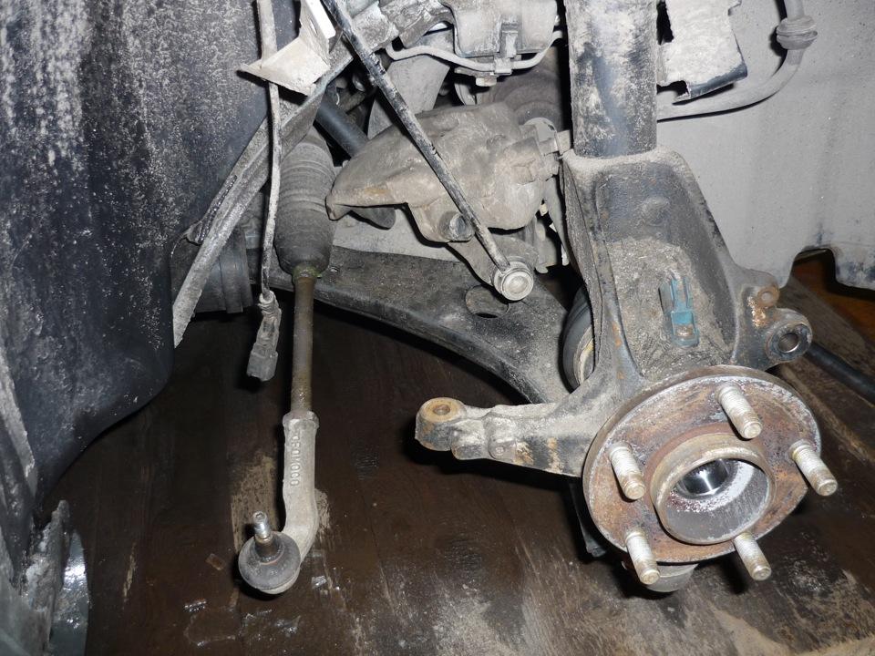 Замена ступичного подшипника форд фокус 1 своими руками