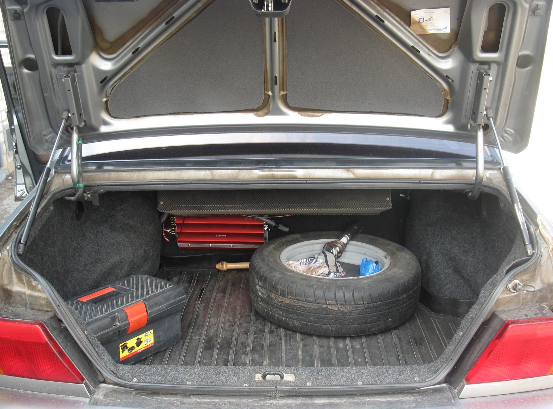 Как сделать багажник на 2115