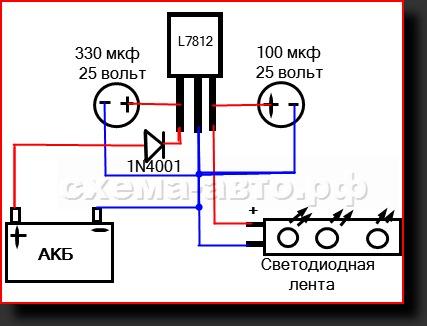 7806 схемы подключения