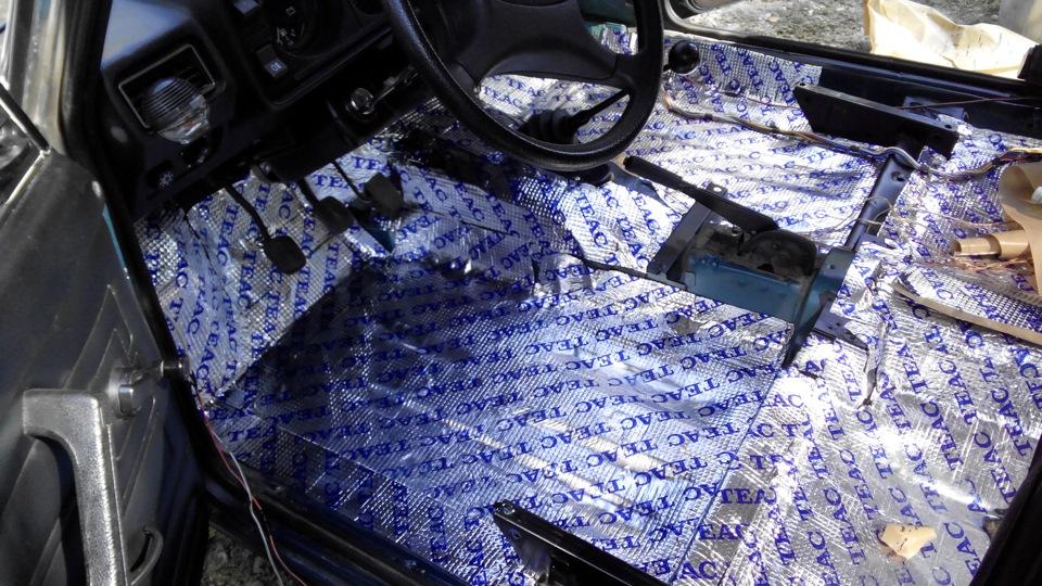 термобелья шумоизоляция автомобиля ваз 2105 наступлением осенних