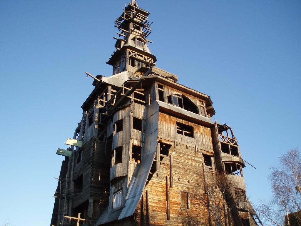 организации рейтингом, самые необычные здания в россии фото этот
