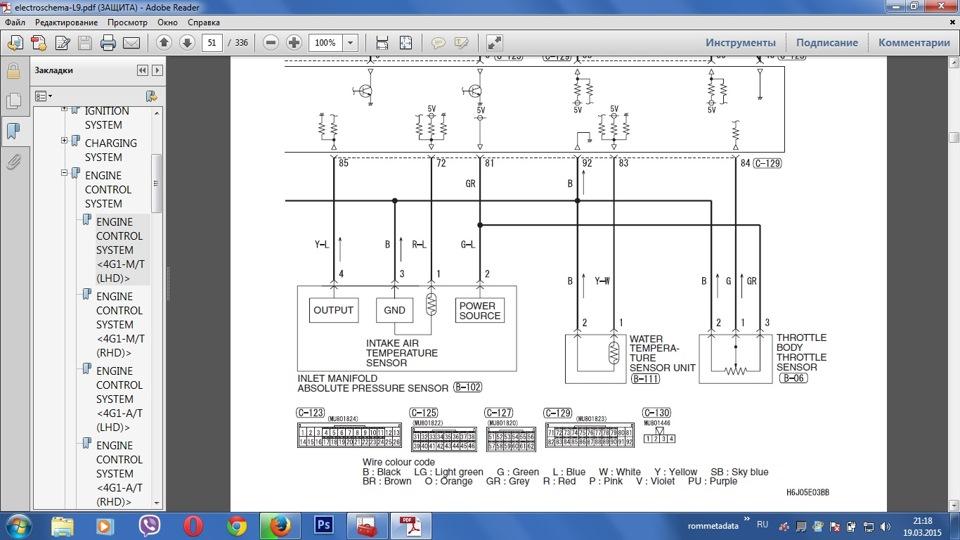 Схема подключения ДАД
