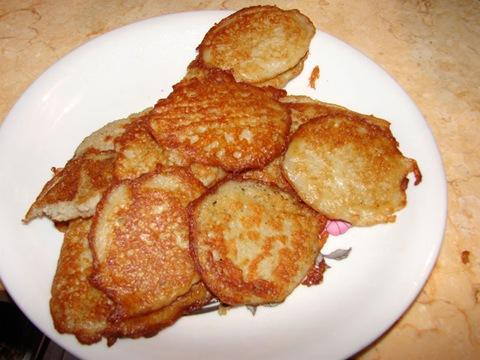 Рецепт драников с мясом.