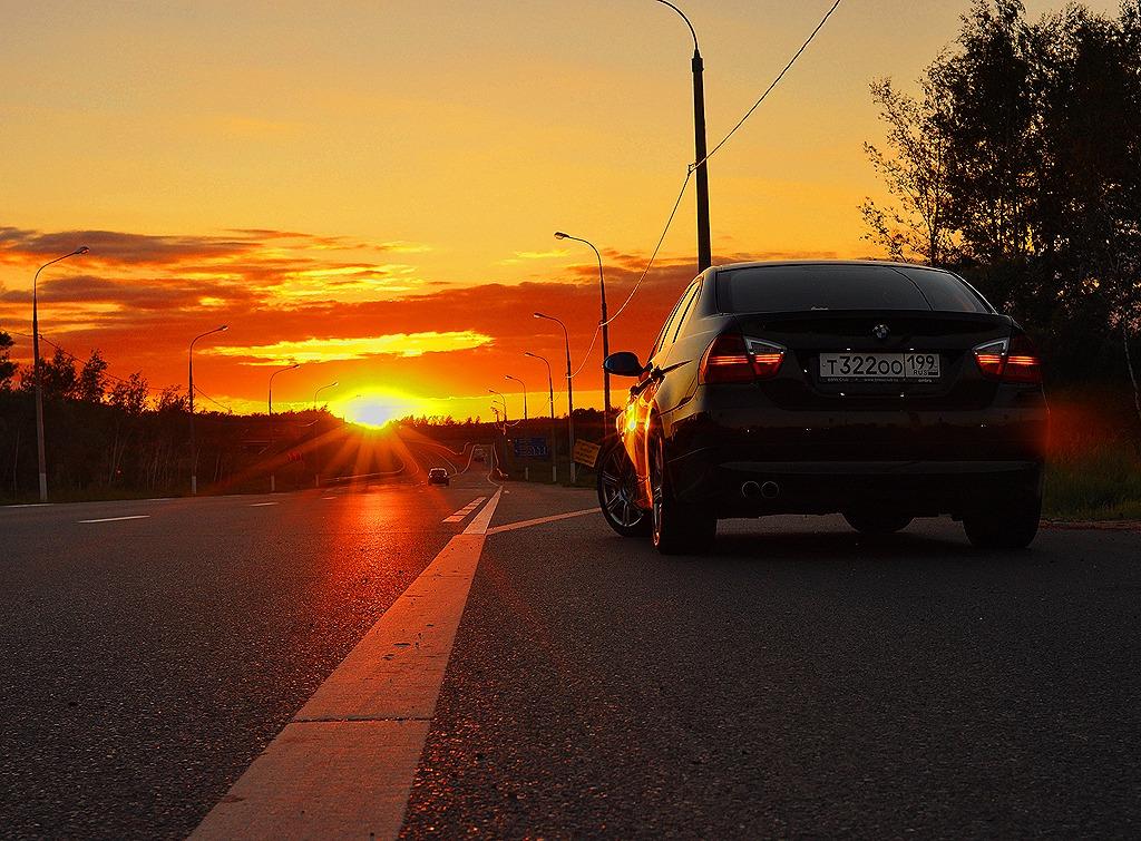 старый автосервис на закате фото город помнит своего