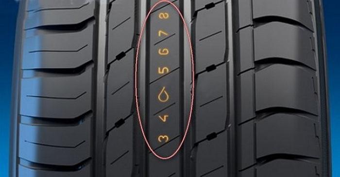 Остаточная высота рисунка протектора шин