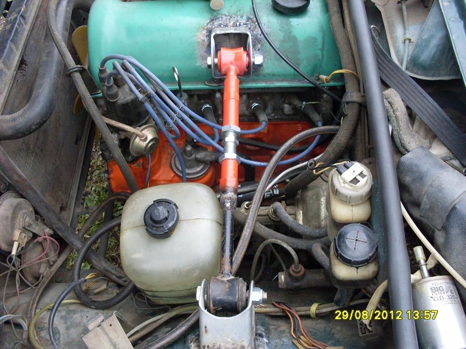 Фото №8 - вибрация по кузову на холостых ВАЗ 2110