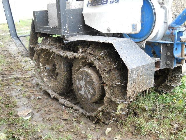Гусеничный мини-трактор своими руками 57