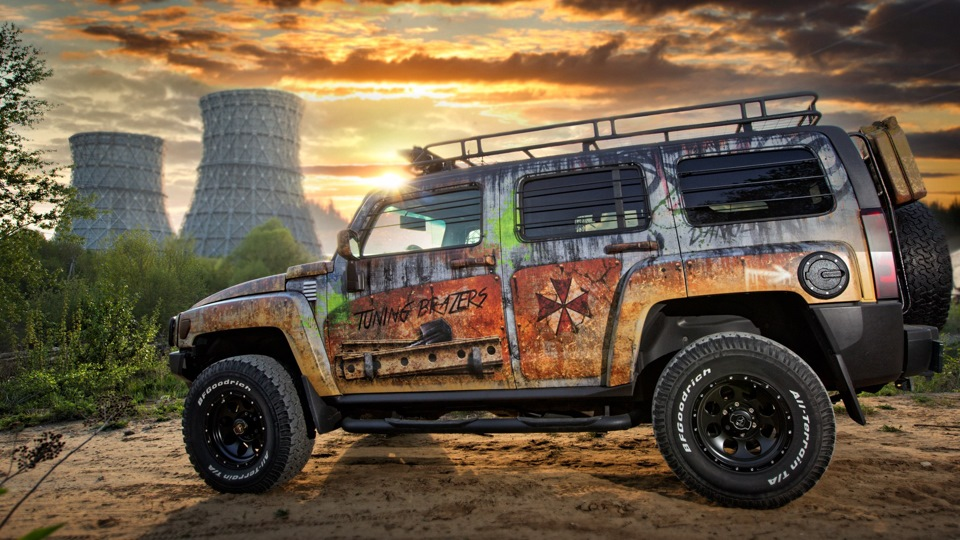 Hummer H3 ZOMBIE by Tuning zers | DRIVE2