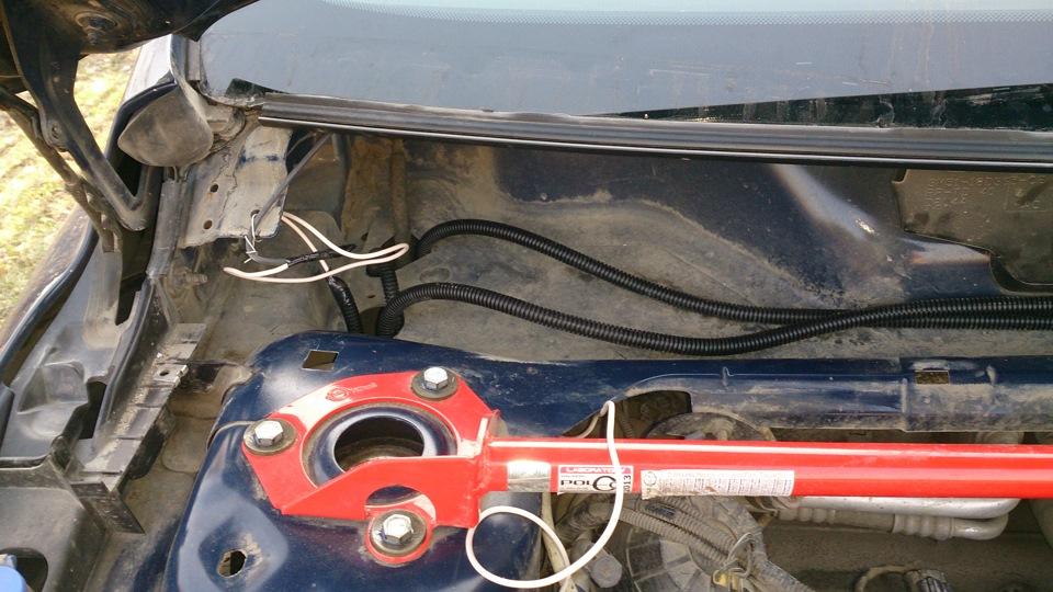 установка подогрева лобового стекла на мерседес спринтер