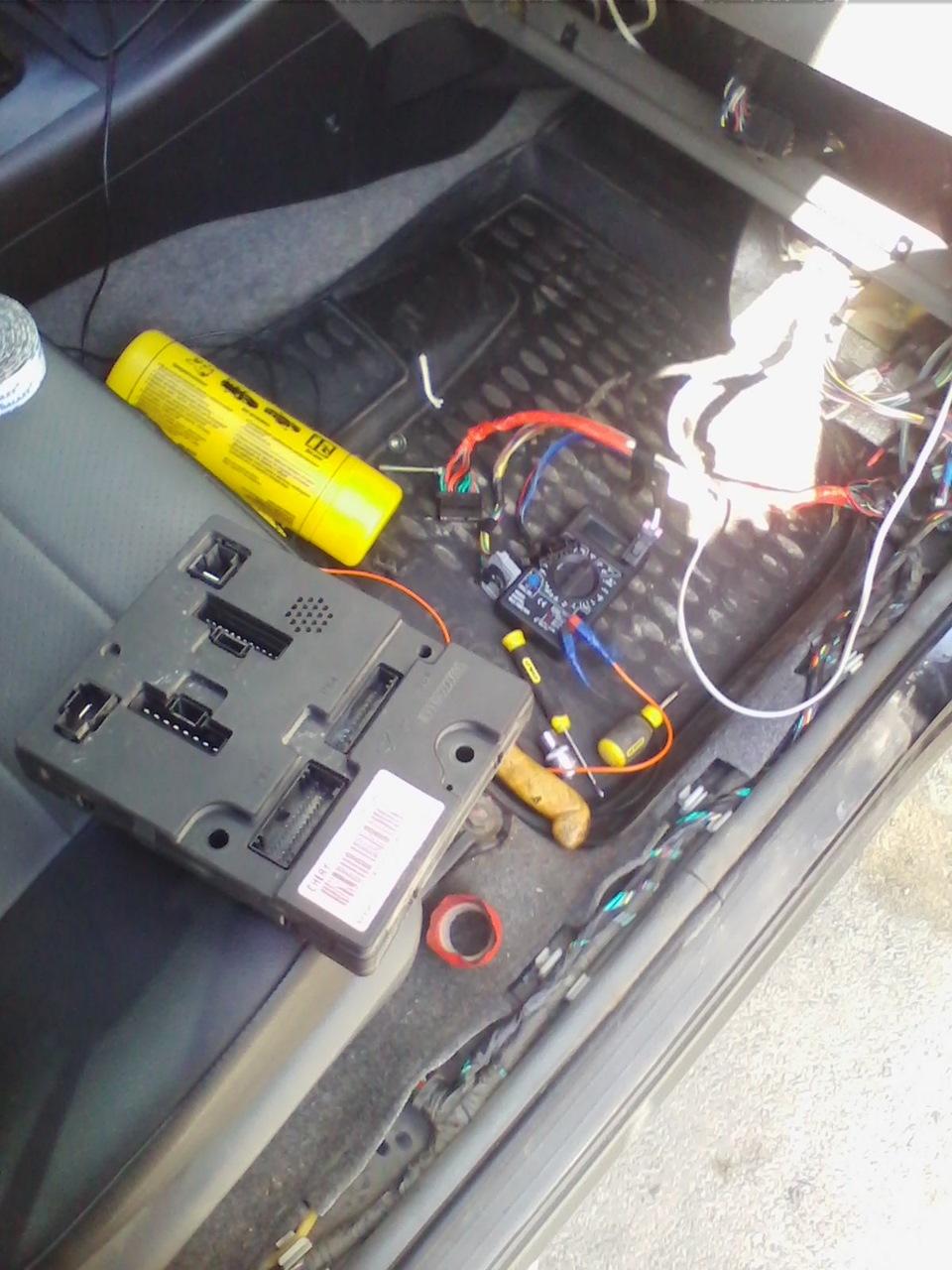электрическая схема подключения электронасоса чери фора