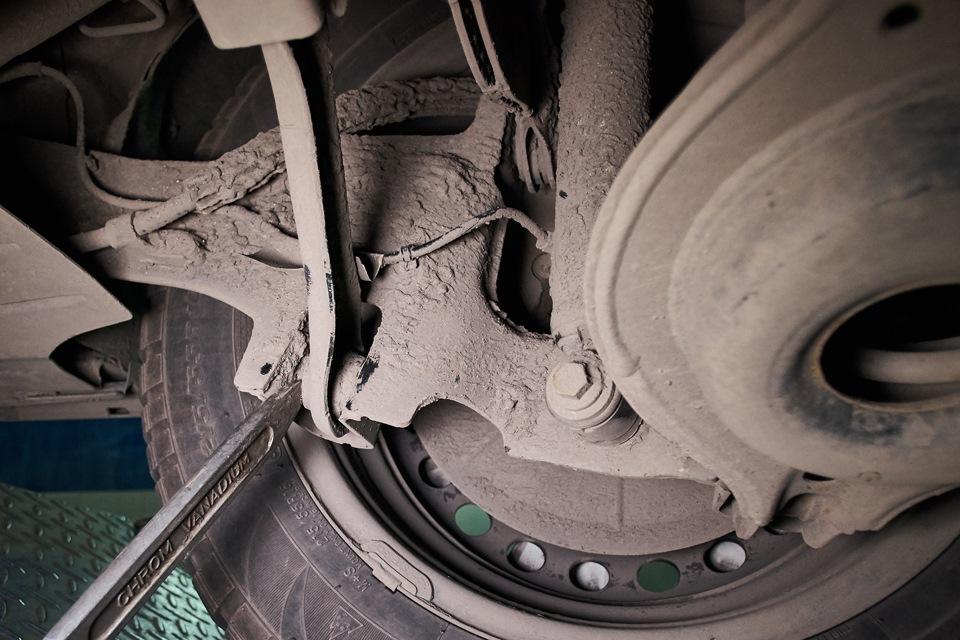 Диагностика задней подвески Ford Focus III