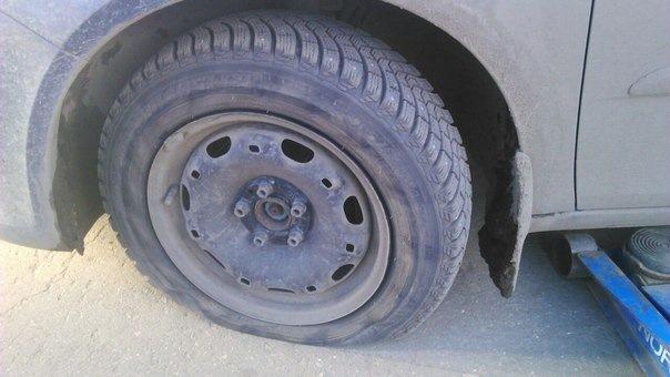Как отремонтировать шину авто 63