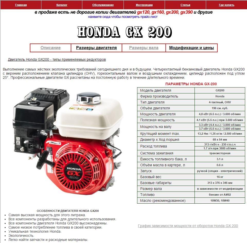 Двигатель gx200 своими руками