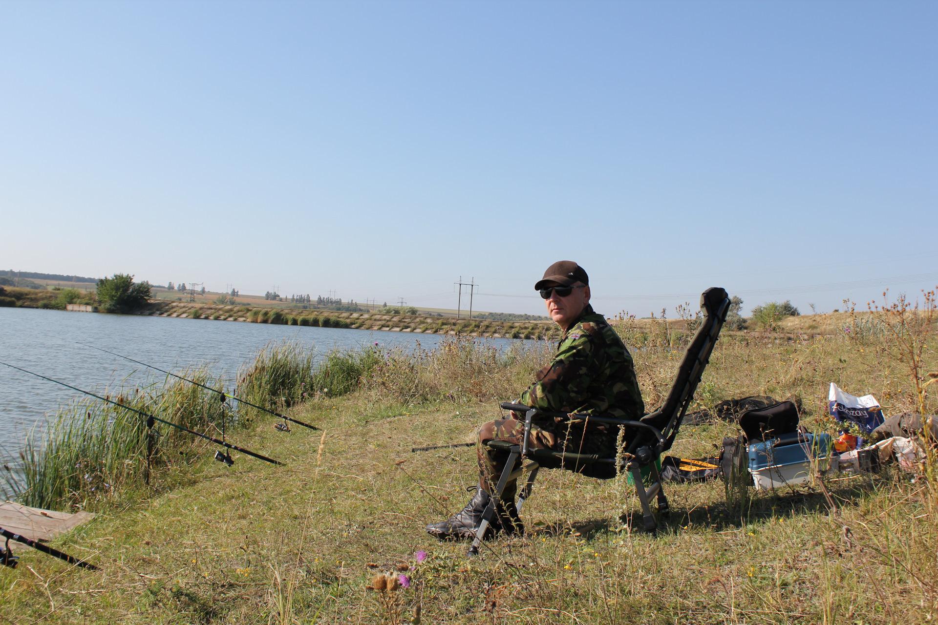Рыбалка в славянского района