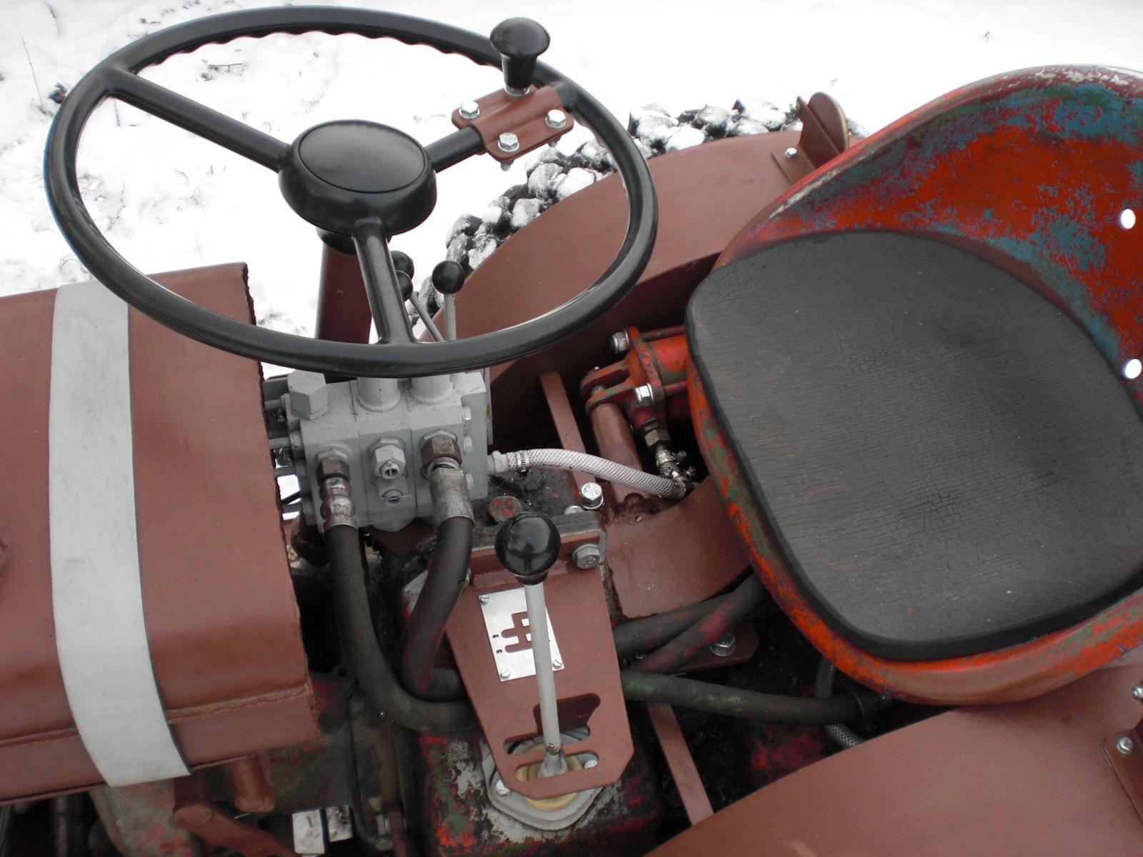 Самодельный мини трактор #7 ( тест, рулевого управления