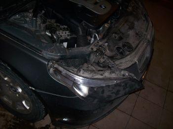 пропал ближний свет на BMW e60