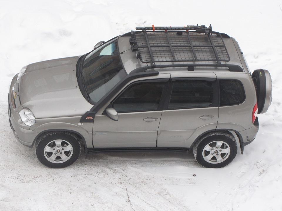 Багажник на рейлинги своими руками нива шевроле