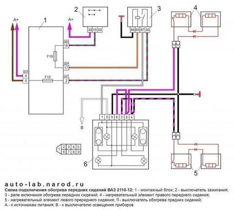 Электрическая схема ваз 21124 богдан.  Мультимедийные электрические схемы автомобилей.