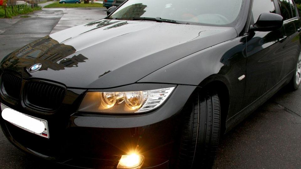 Цвет машины черный металлик