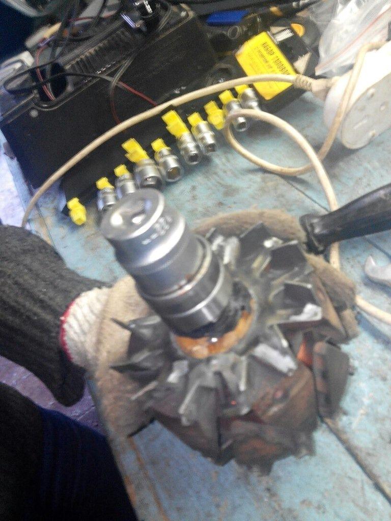 Замена подшипников генератора ваз 2114 своими руками 79