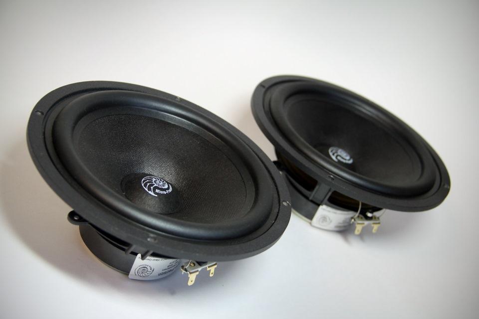 Bass Test / midrange speaker Micro Precision 5 16MKII — «Car