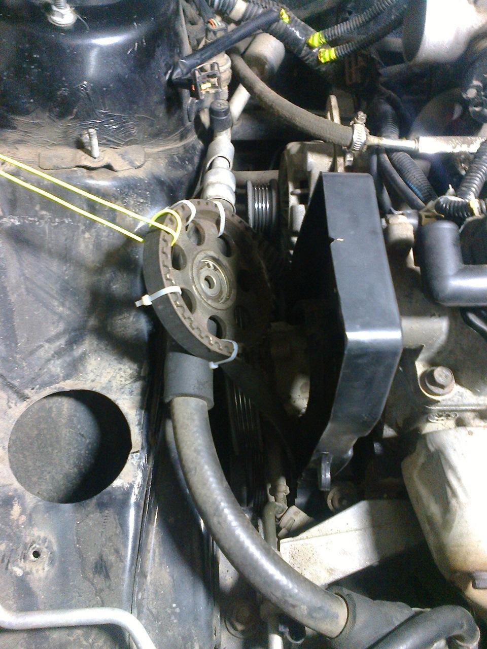 термостат на машину chevrolet aveo