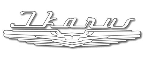 Логотип Ikarus — крылья Икара