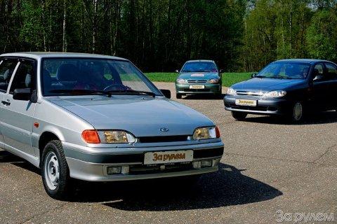 Тест-драйв ВАЗ 2115, Chevrolet Lanos.  - Цена хорошего настроения.