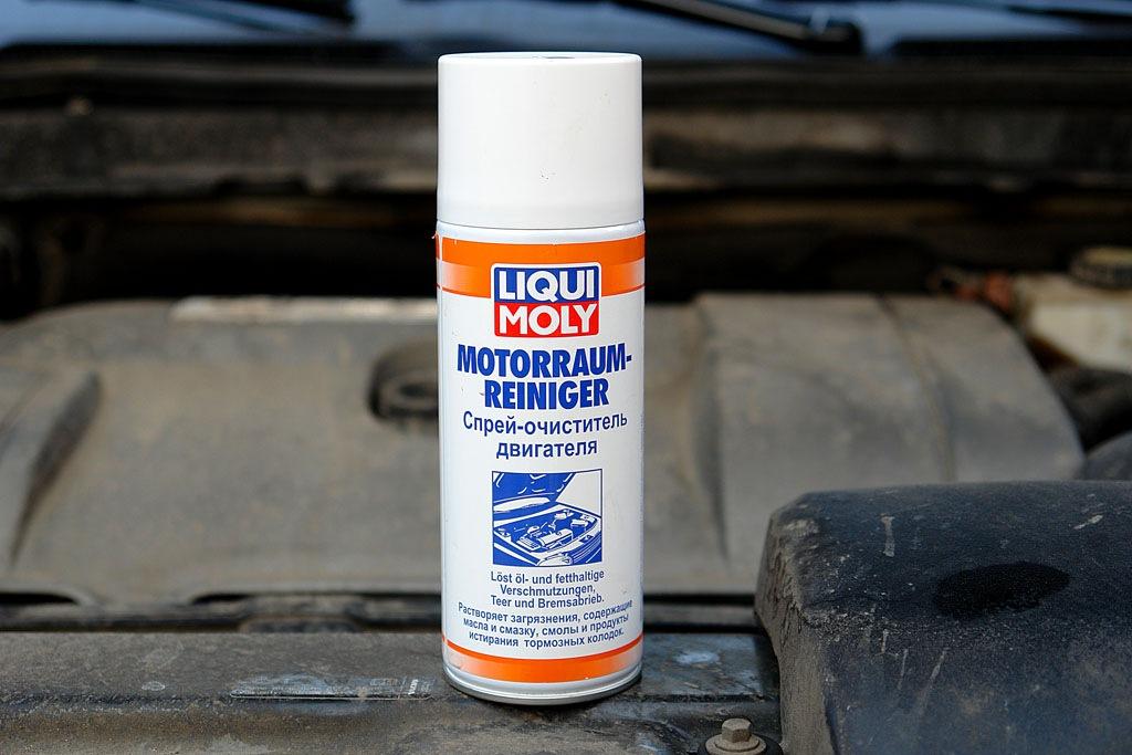 Каким средством мыть двигатель автомобиля