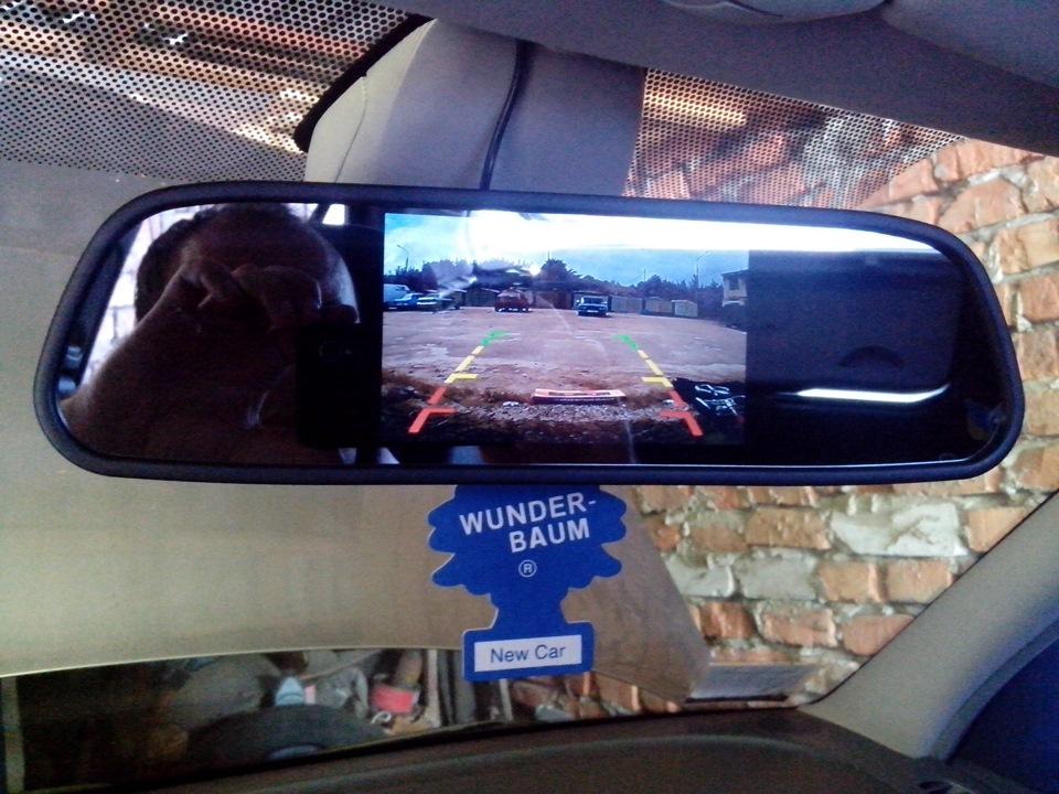 Зеркало камера заднего вида с алиэкспресс