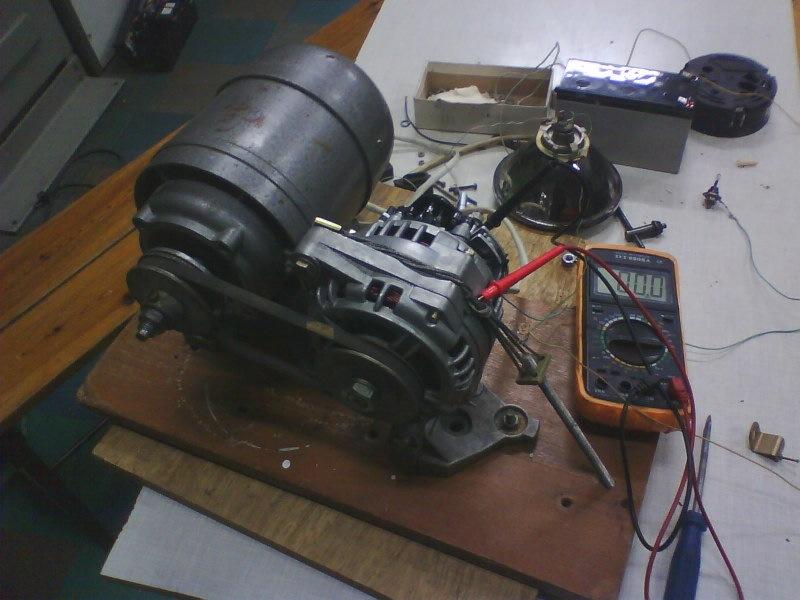Стенд генератора своими руками