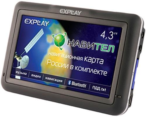 Gps навигатор explay pn-435 (навител navitel) купить в. Gps навигатор expla