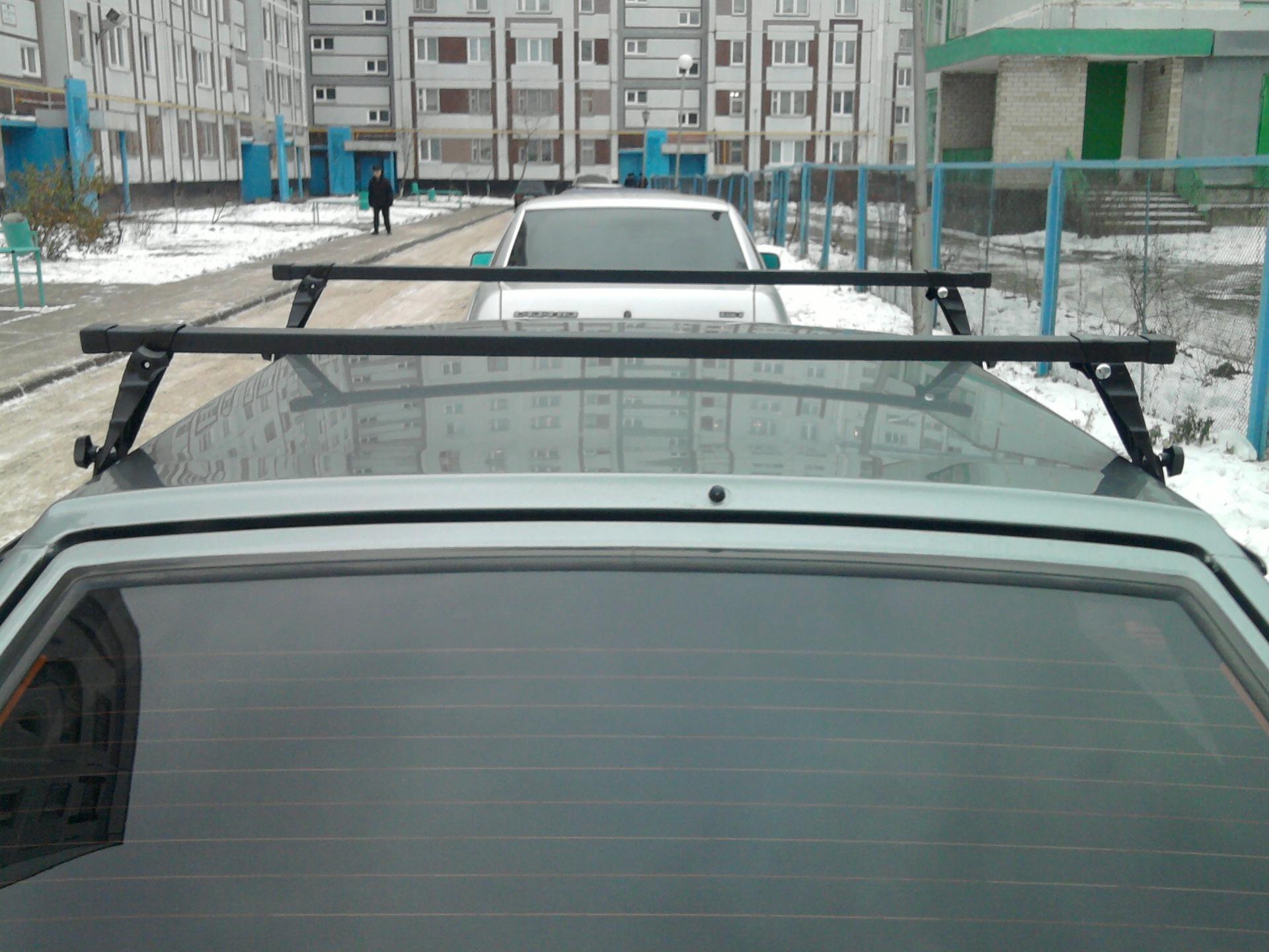 Крепление багажника на крышу ваз 2110 своими руками