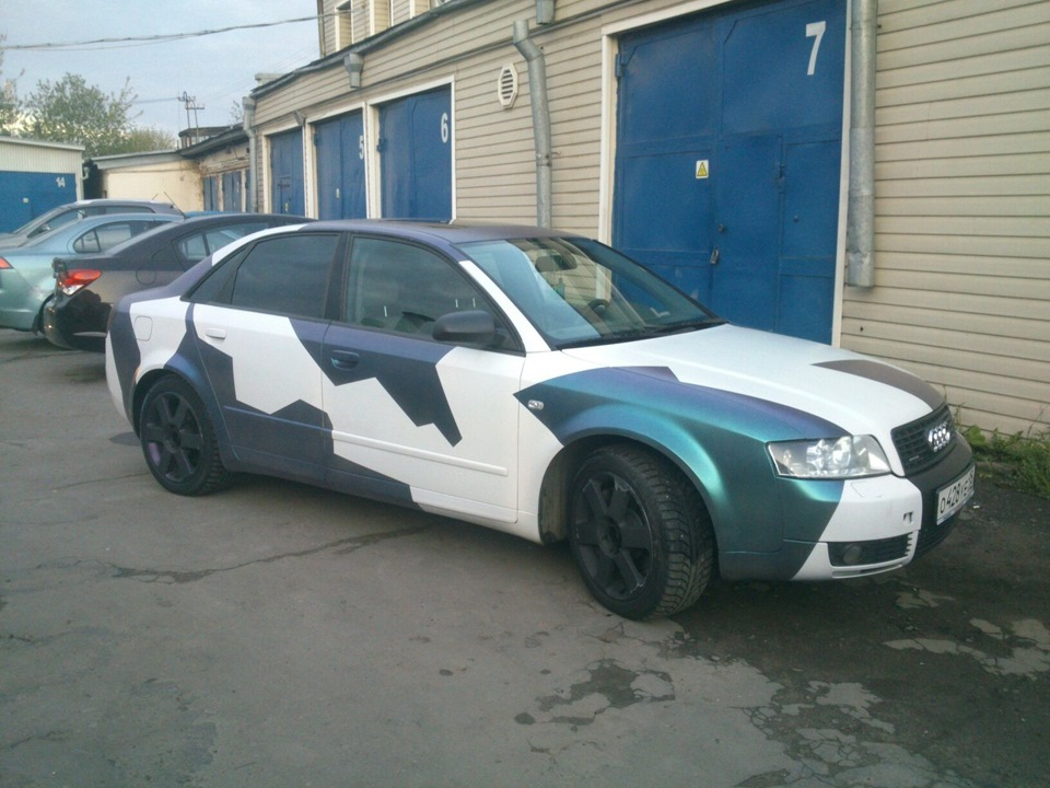 cost charm great look cost charm Audi a4 Camo Chameleon — DRIVE2